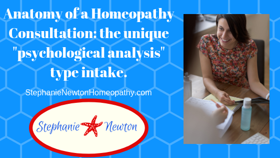 Anatomy of a Homeopathy Consultation