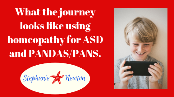 Autism and PANDAS/PANS symptoms relieved with long term homeopathy management!