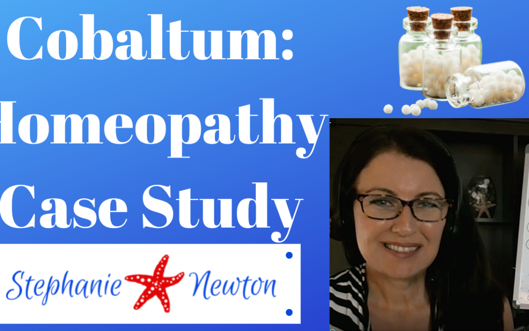 Homeopathy Case Study: Cobaltum (and Mugwort Flower Essence)