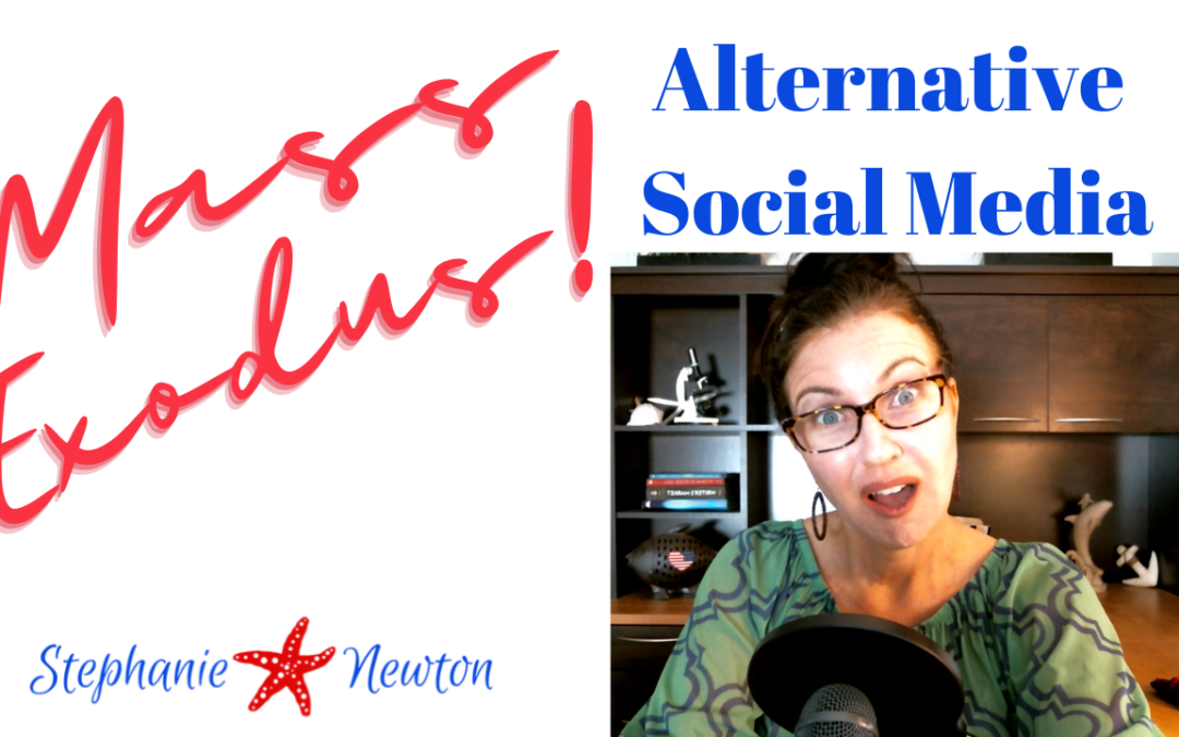 ALTERNATIVE Social Media Platforms | MeWe | Parler | Colleqtiv | Medical Freedom | Mass Exodus!